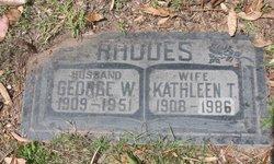 Kathleen Theresa <i>Dawson</i> Rhodes
