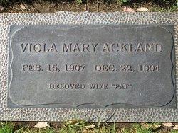 Viola Mary <i>Chew</i> Ackland