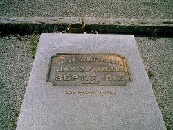 James W. Jim Buck Aultman