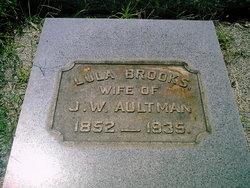 Frances L. Lula <i>Brooks</i> Aultman