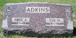 Evaline Harriet Eva <i>Rideout</i> Adkins