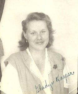 Gladys Helen <i>Kasper</i> Bedigrew