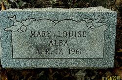 Mary Louise Alba