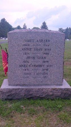 Annie <i>Shaw</i> Ahearn