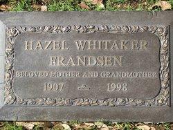 Hazel <i>Whitaker</i> Frandsen