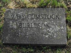 Mary <i>Comstock</i> Burleson