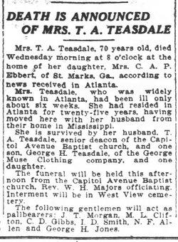 Mary E. <i>Halbert</i> Teasdale