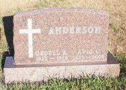 Avis Louise <i>Buchmann</i> Anderson