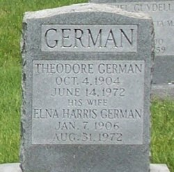 Elna <i>Harris</i> German