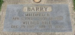 Wilbur E. Bill Barry