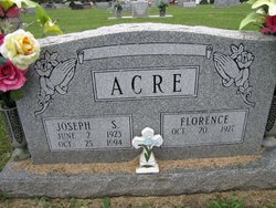 Joseph S Acre