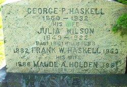 Maude Alice <i>Holden</i> Haskell