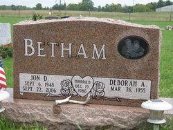 Jon D Betham