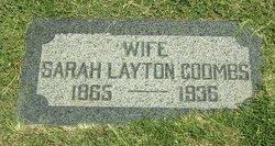 Sarah <i>Layton Taylor</i> Coombs