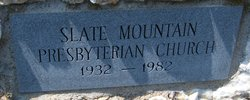 Slate Mountain Prebsyterian Church Cemetery