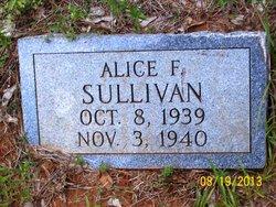 Alice F. Sullivan