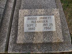 Minnie R <i>Jarrett</i> Alexander