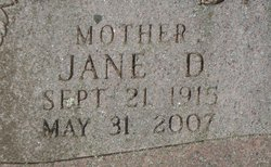 Jane D <i>Devine</i> Barden