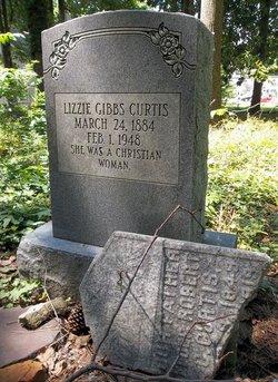 Elizabeth Gibbs Lizzie Curtis