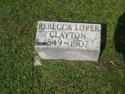 Rebecca Scarberra <i>Loper</i> Clayton