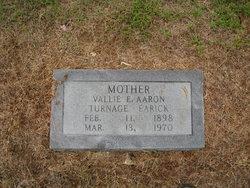 Vallie Elizabeth Earick