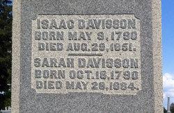Sarah <i>Curl</i> Davisson