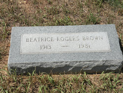Beatrice <i>Rogers</i> Brown