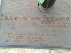 Sandra Jane <i>Hammonds</i> Armbrester