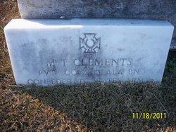 M T Clements