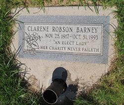 Clarene <i>Robson</i> Barney