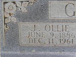 Joseph Oliver (Ollie) Glover