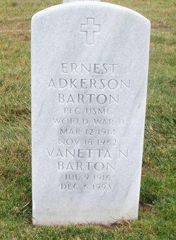 Ernest Adkerson Barton