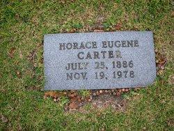 Horace Eugene Gene Carter