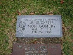 Anna June <i>Carter</i> Montgomery