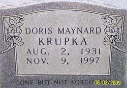 Doris M <i>Maynard</i> Krupka