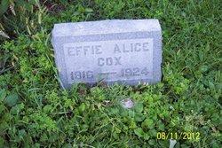 Effie Alice Cox