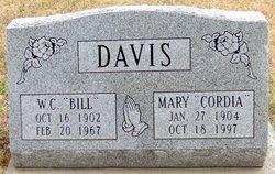 Mary Cordelia Cordia <i>Huyck</i> Davis