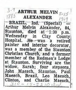 Arthur Melvin Alexander