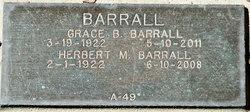 Rev Herbert Monroe Herb Barrall, Jr