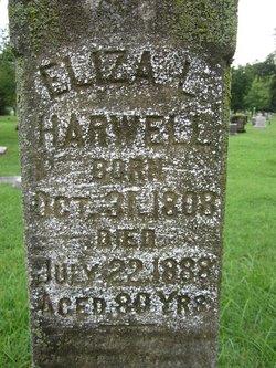 Elizabeth L Eliza <i>Cook</i> Harwell