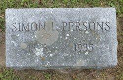 Simon L Persons