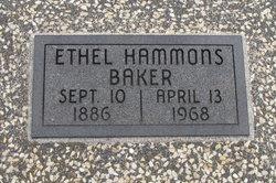 Ethel <i>Hammons</i> Baker