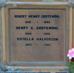 Estella Grotewohl Fannie <i>Smith</i> Halverson
