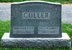 Wilbur Dewitt Culler