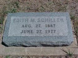 Edith Mary <i>Leckron</i> Schiller