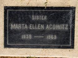 Marta Ellen Acowitz