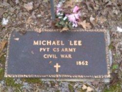 Pvt Michael Lee