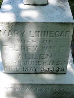 Mary <i>Linnecar</i> Allen