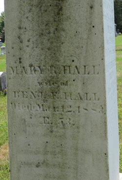Mary R <i>Brackett</i> Hall