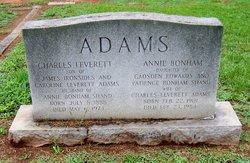 Annie Bonham <i>Shand</i> Adams